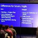 Differences for Scrum/Agile