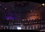 Panoramic shot of the Superdome