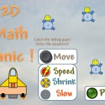 2D Math Panic Title Screen