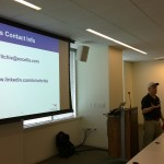 Stephen Ritchie talking about Continuous Integration