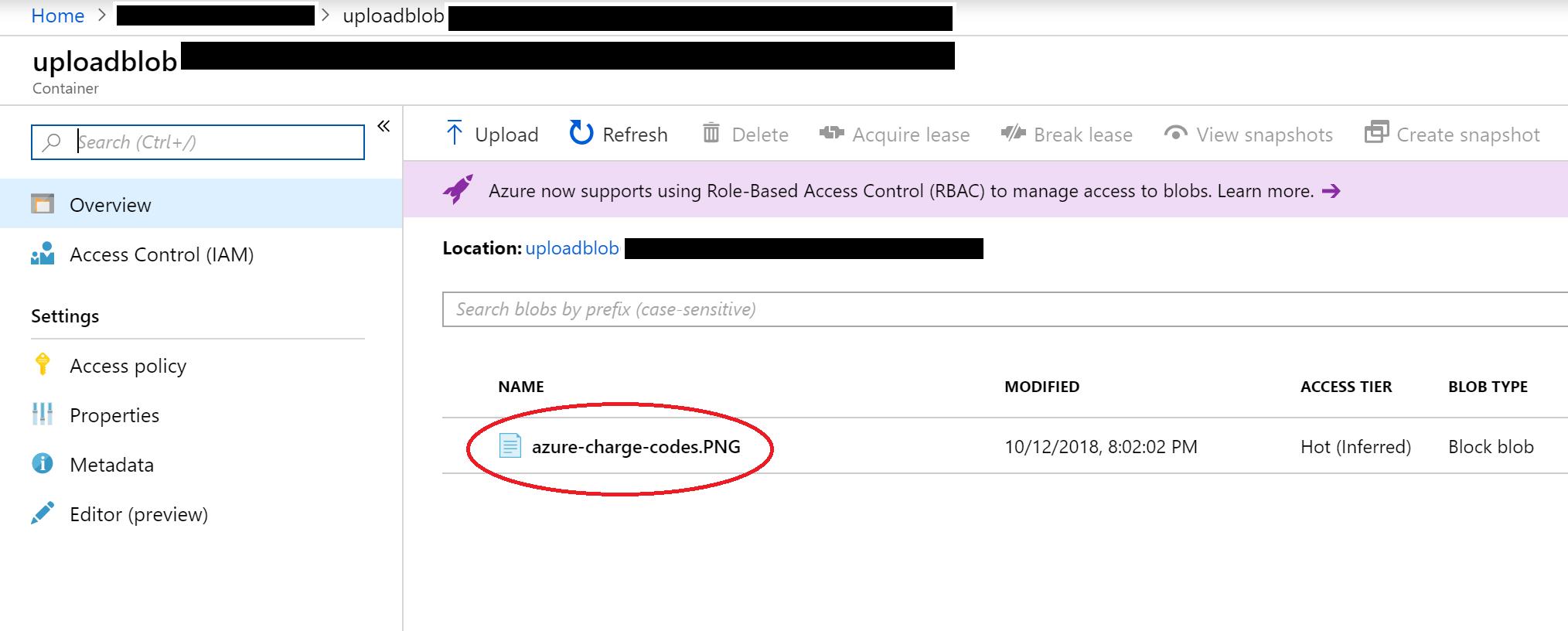 Azure Blob Storage from ASP  NET Core File Upload | Wake Up
