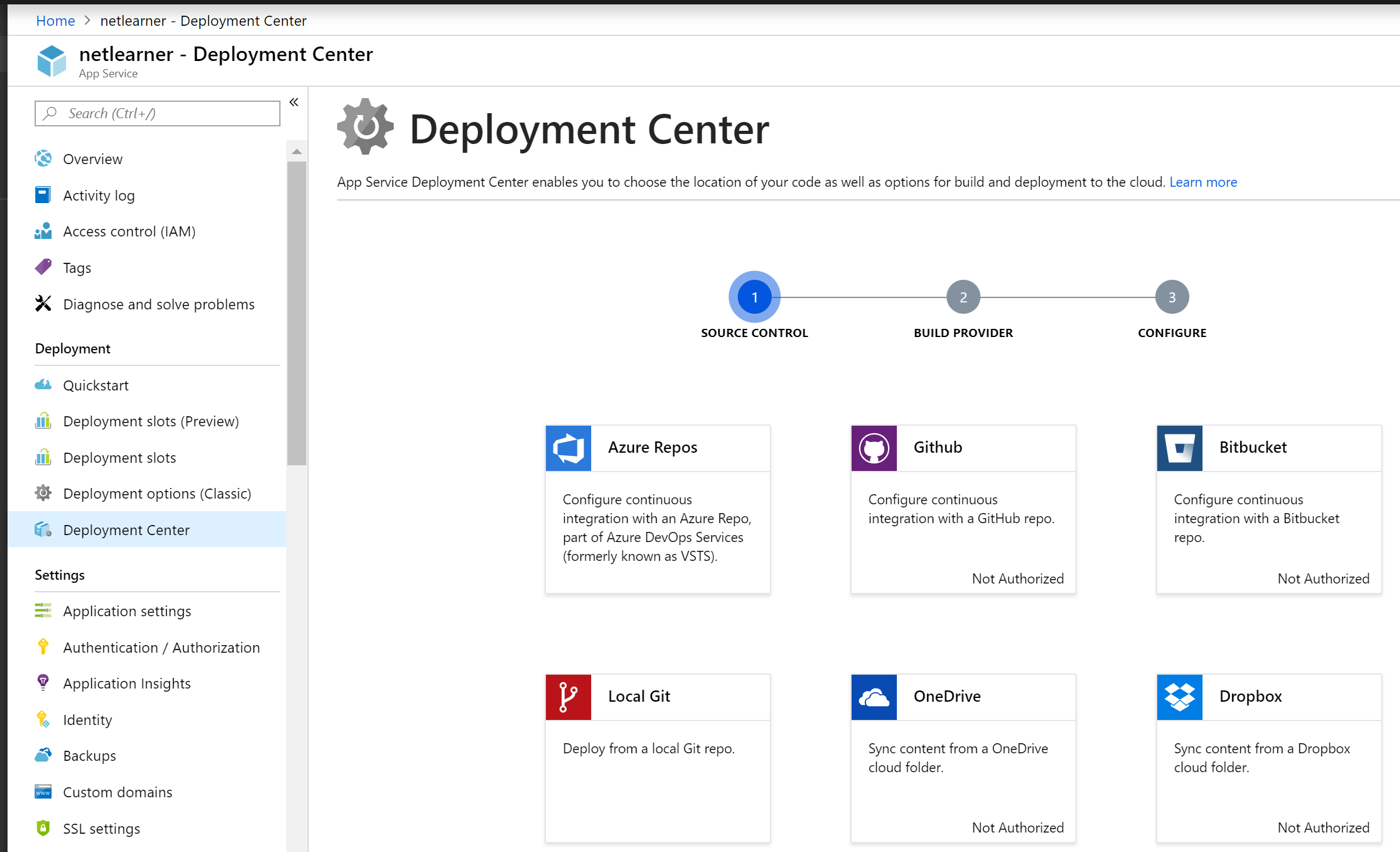 Azure-WebApp-DeploymentCenter | Wake Up And Code!