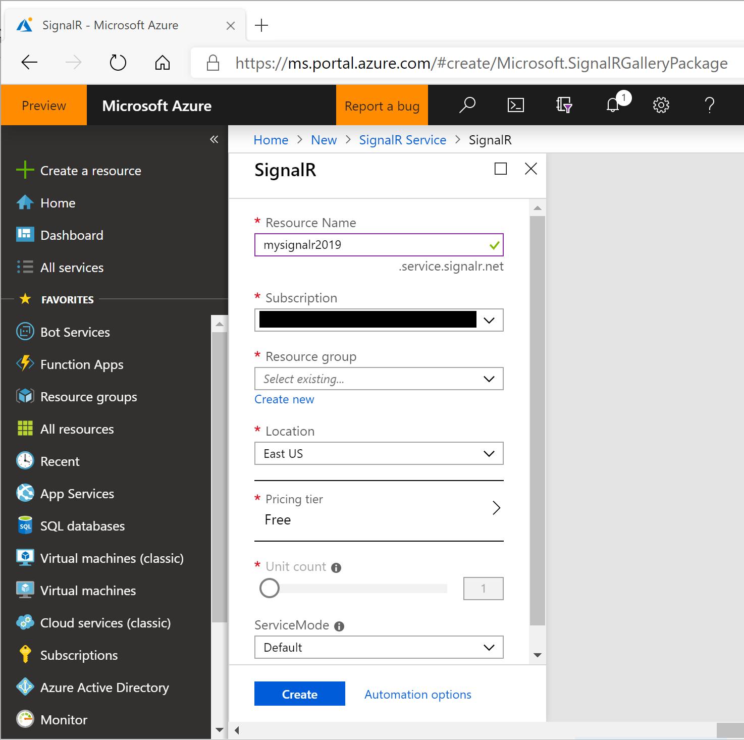 Summarizing Build 2019 + SignalR Service for ASP  NET (Core