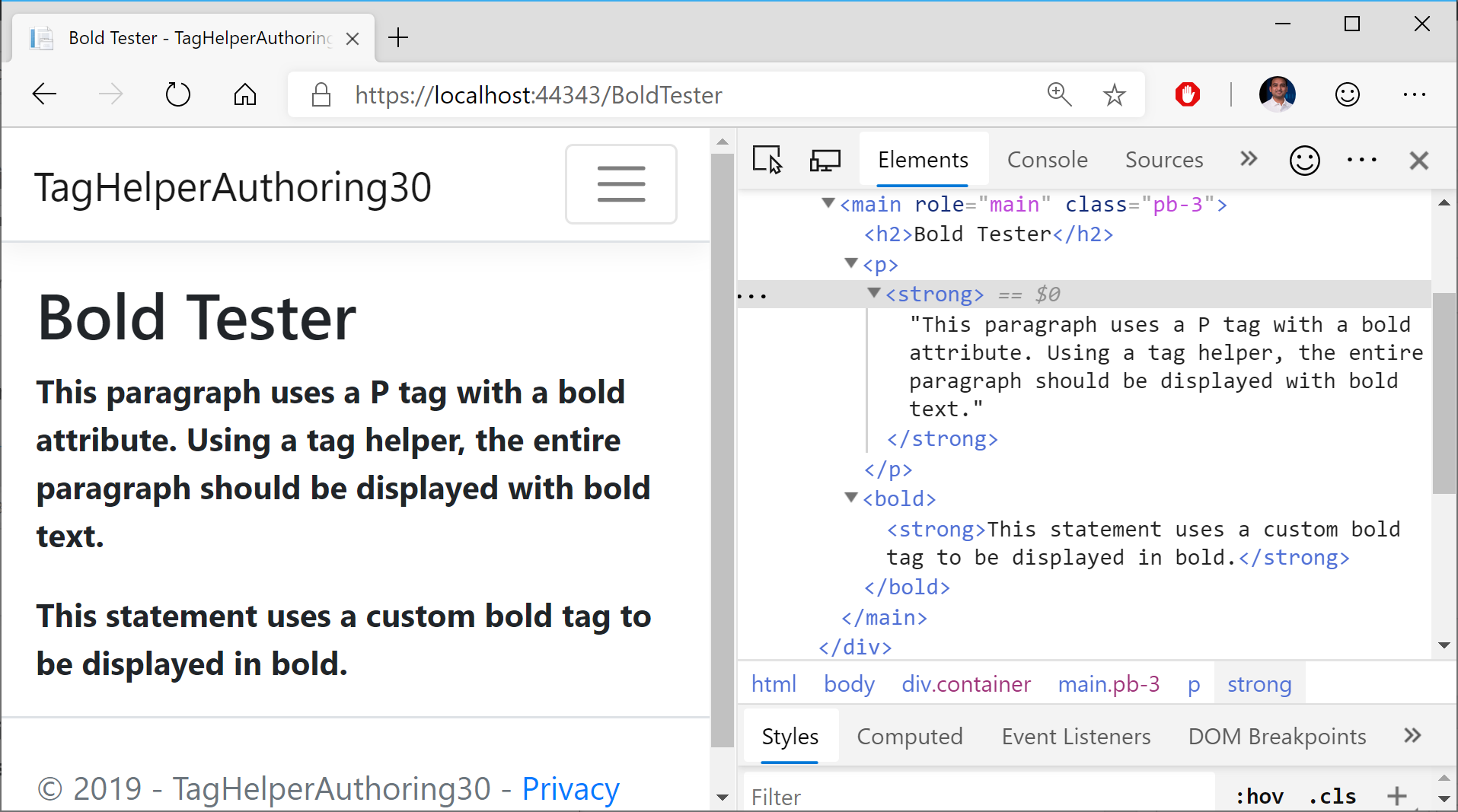 Tag Helper Authoring in ASP  NET Core | Wake Up And Code!