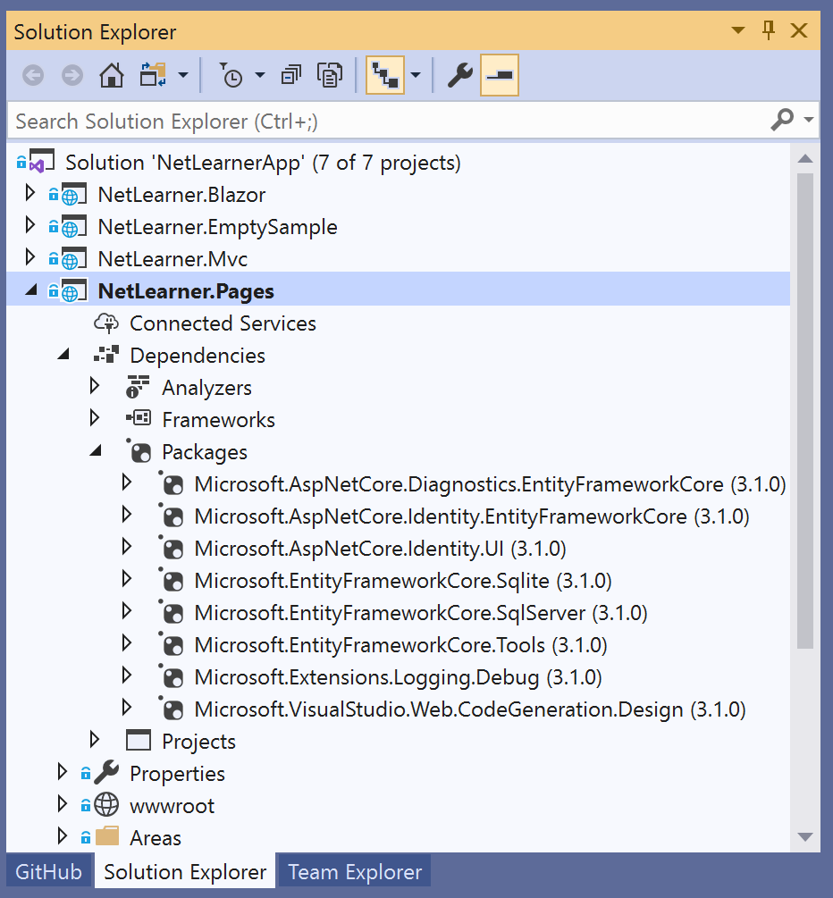 Asp Net Core Razor Pages Is A New Aspect Of Asp Net Core: Razor Pages In ASP .NET Core 3.1